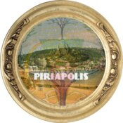 Piriapolis tree of life framed circle
